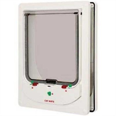 Cat Mate Electromagnetic Large Cat or Small Dog Door - White