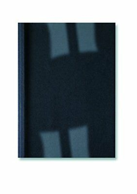 GBC A4 1.5mm 250 GSM Thermal Binding Cover - ClearBlack Pack of 100
