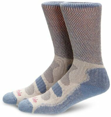 Bridgedale Coolfusion Light Hiker Womens Sock - Smoky Blue, 5-6.5