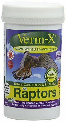 Verm-X  Powder for Raptors, 50 g