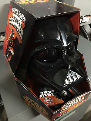 Darth Vader voice changer 2004 NIB Mint! Never used.