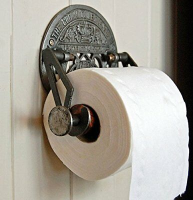 Traditional Crown vintage design victorian wall mounted toilet loo roll holder b