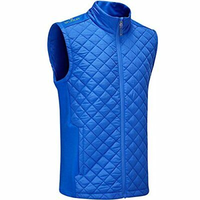Stuburt 2017 Mens Endurance Sport Full Zip Padded Gilet - Imperial Blue - M