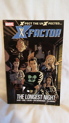 X-Factor The Longest Night Trade Paperback