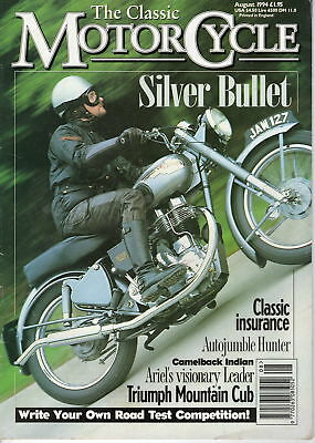 The Classic Motor Cycle Magazine from August 1994