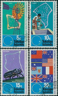 Tokelau 1972 SG33-36 South Pacific Commission set FU