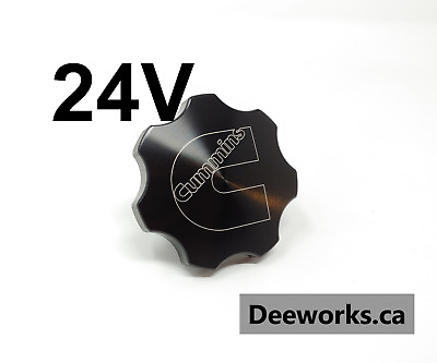 Anodized Billet Oil Cap for Dodge Cummins FREE USA Shipping! Black