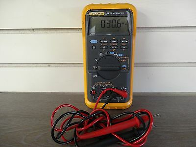 Fluke 787 Processmeter, With Clamps