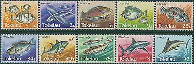 Tokelau 1984 SG108-117 Fish set MNH