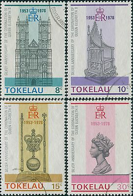 Tokelau 1978 SG61-64 Coronation set FU