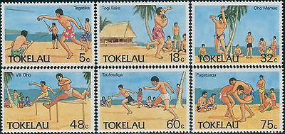 Tokelau 1987 SG148-153 Olympic Sports set MNH