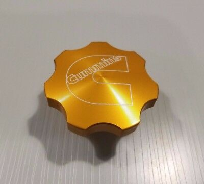 Anodized Billet Oil Cap for Dodge Cummins FREE USA Shipping! Orange