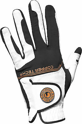 Copper Tech Compression-Fit Mens All Weather Golf Gloves (Left Hand glove)