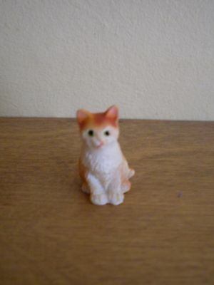 Dollshouse Miniature   ~ GINGER  #2  ~ Cat