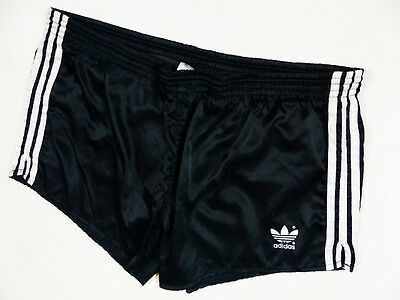 ADIDAS OLDSCHOOL _ MENS SHORTS NYLON RUNNING SHORTS VINTAGE RETRO 80s 70s D8 s:L