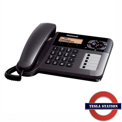PANASONIC KX-TG6461E Corded Phone With Answer Machine | Tesla Station