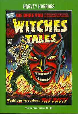Witches Tales Vol 4 - Harvey Horrors - Precode Horror Comics From 1953