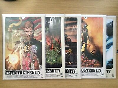 Seven to Eternity #5, 6, 7, 8 & 9 IMAGE Comics 1st Prints MINT CONDITION