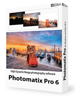 HDR Photomatix Pro 6 EDIT Photo Editing Software Instant Delivery FULL ACTIVATED