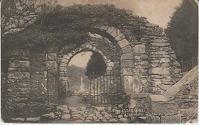 Glendalough - Co. Wicklow - The Gateway -Real Photo  Vintage Postcard #rp
