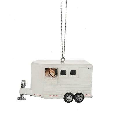 Horse Trailer For Equestrian Christmas Tree Ornament Midwest CBK
