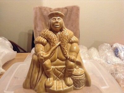 """Rare Wade Old King Cole Money Box,Honey,Large 5"""" x 5"""" Never displayed or Used."""