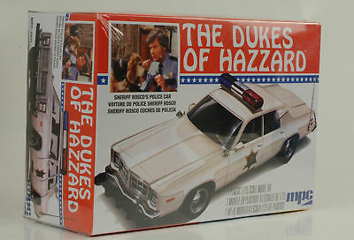 Movie The Dukes of Hazzard General Lee Rosco Police car Kit Bausatz 1:25 mpc