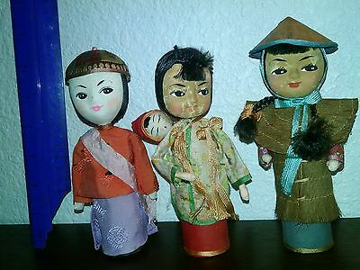 asian dolls set of 3