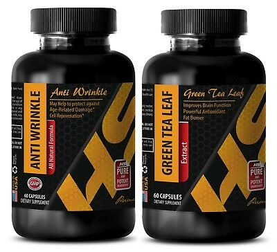Weight loss energy - ANTI WRINKLE - GREEN TEA COMBO - resveratrol and grape seed
