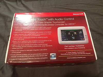 "Honeywell Tuxedo Touch With Voice Control 7"" Color Graphic Touchscreen TUXWIFIW"