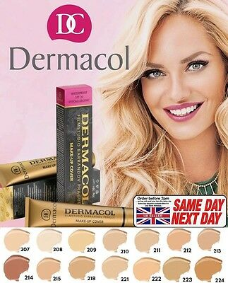 Dermacol High Covering Makeup Foundation Legendary Film Studio Hypoallergenic