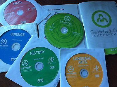 Switched on Schoolhouse, AOP 3rd  grade, 4 subjects homeschool curriculum