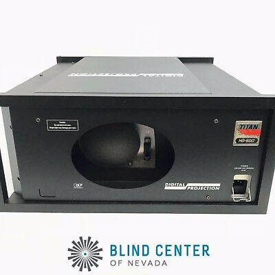 DIGITAL PROJECTION TITAN XG-500 3-CHIP DLP PROJECTOR 2 of 2