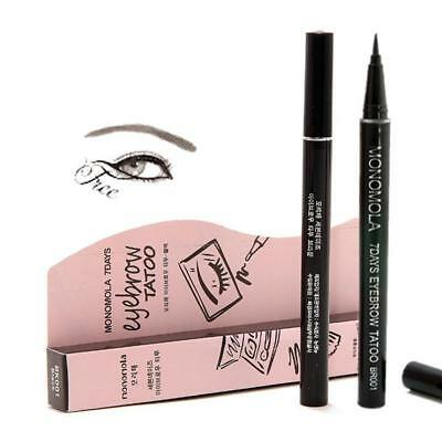Monomola 7 Days Eyebrow Tattoo Pen Liner Long Lasting Makeup Black & Brown UK