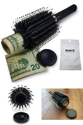 Hair Brush  Home Security Safe Can Secret Container Hidden Diversion Stash Box
