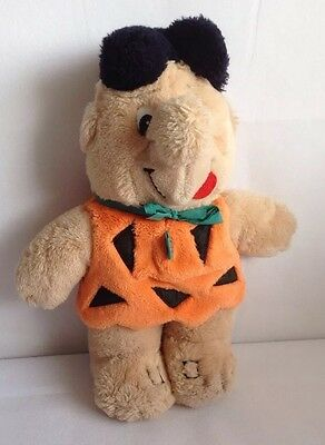 Original Vintage 1988 Fred Flintstone Plush Soft Toy, The Flintstones