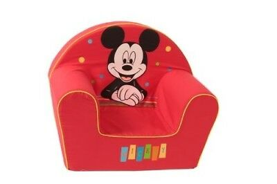 Disney - 6720024 - Fauteuil - D?cor Happy Mickey Mouse - Rouge
