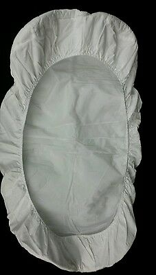 American Baby Waterproof Quilted Cotton Bassinet Size Fitted Mattress Cover BL24