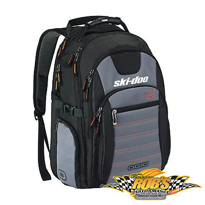 New 2018 Ski-Doo Urban Backpack Black #469290090