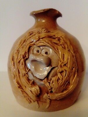 Pretty Ugly Pottery - Welsh Collectable Jug - Vintage - Face on Jug