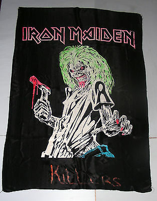 IRON MAIDEN KILLERS huge FLAG banner heavy metal skull