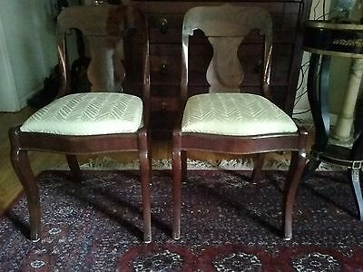 Two Empire chairs circa 1840