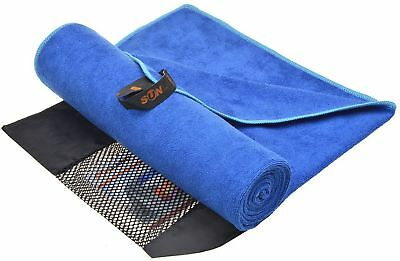 Sunland Ultra Absorbent Thirsty Travel Sports Microfiber Towels Swimming ... New