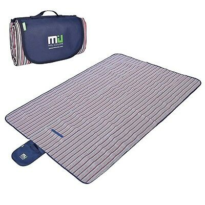 Outdoor Blanket Picnic blanket Tote - MIU COLOR Waterproof and Sand Proof... New