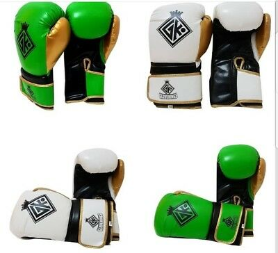 GK PU Leather Boxing Gloves,MMA,Sparring Punch Bag,Muay Thai Training Gloves