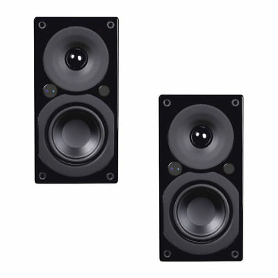 System Audio Saxo 1 Active Speakers with Bluetooth Wireless - Black