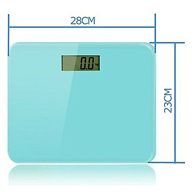 DR. HEALTH 400 lbs Digital Bathroom Scale Measures Weight. Bath Scale Ste... New