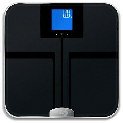 EatSmart Precision GetFit Digital Body Fat Scale with 400-Pound Capacity ... New