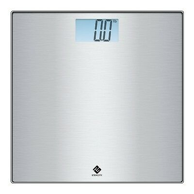 Etekcity Stainless Steel Digital Body Weight Bathroom Scale with Step-on ... New