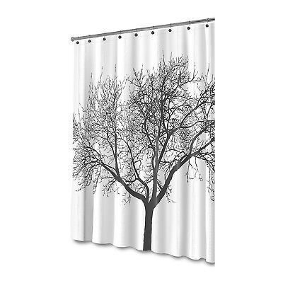 Creatov- Large Size Shower Curtain with Tree Design 100% Waterproof & Eco... New
